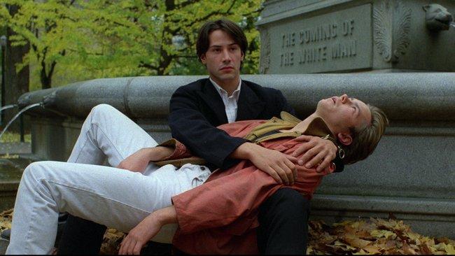 קיאנו ריבס וריבר פיניקס בסרט איידהו שלי.